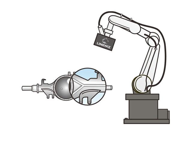 アーク溶接向け外観検査ロボット