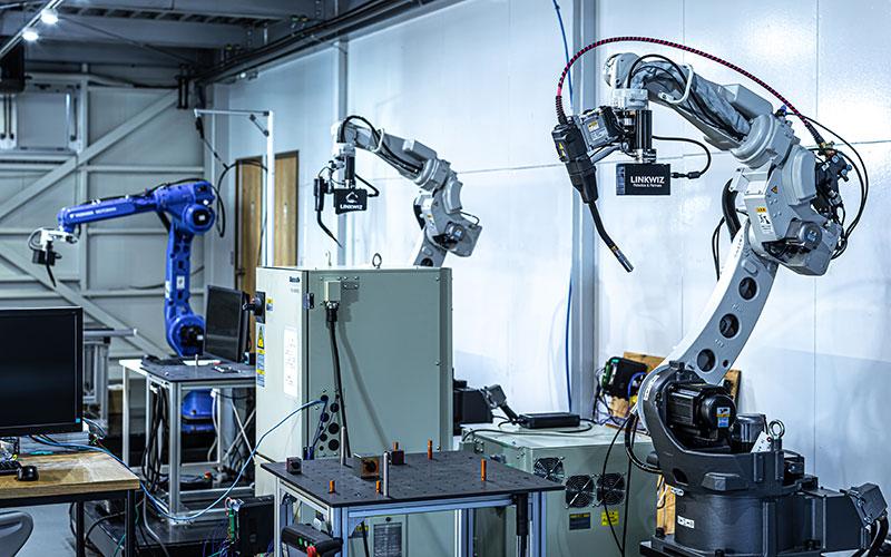 産業用ロボットスペース